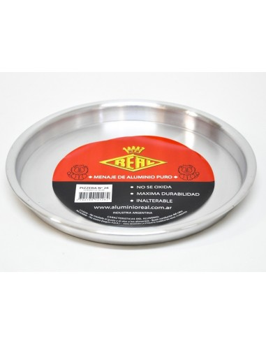 Pizzera Aluminio Reforzada De 36 Cm